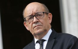 """We cannot exclude the prospect of a 'no deal' but we want to avoid it,"" Foreign Minister Jean-Yves Le Drian said in an interview with the French daily La Croix (Pic Meae)"