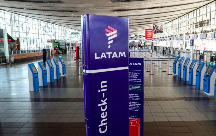 LATAM blamed the decision in part on Argentina's government, which imposed one of the world's toughest travel bans, drawing an outcry from the industry.