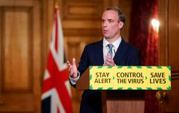 """Coronavirus and the challenges has created an opportunity...for various different state and non-state actors through cyber, through other means,"" Foreign Secretary Dominic Raab told Sky News."
