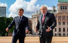 Prime Minister Boris Johnson told visiting French President Emmanuel Macron on Thursday that talks on a post-Brexit deal cannot drag on into the autumn.