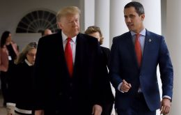Trump said he would consider meeting Maduro and played down his earlier decision to recognize opposition leader Juan Guaido as Venezuela's legitimate leader