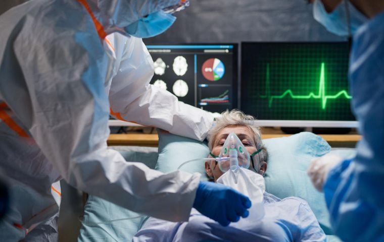 WHO warned that at the current rate of new cases, a shortage of concentrators - devices that purify oxygen - to help critically-ill patients was looming.