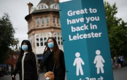 Health Secretary Matt Hancock said moves to ease a three-month lockdown would be reversed in Leicester, where the infection rate is three times as high