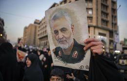 The United States killed Soleimani, leader of the Revolutionary Guards' Quds Force, with a drone strike in Iraq on 3 January