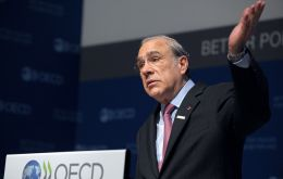 """The discovery of previously hidden accounts thanks to automatic exchange of information has and will lead to billions in additional tax revenues,"" OECD Secretary General Angel Gurria said"