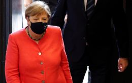Merkel, whose government has made wearing a mask compulsory in some public places, was asked why she had never been seen wearing a mask in public.