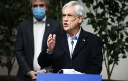 """The coronavirus pandemic...is hitting our middle class hard,"" Piñera said, touting the fresh round of stimulus as a bailout at least 1 million families."