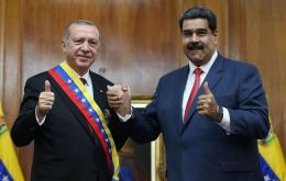 The agreement dates back to May 2018, after Turkish President Erdoğan's visit to Venezuela, when he pledged to help his Venezuelan counterpart Nicolas Maduro