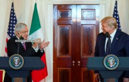 The spectacle of Lopez Obrador and Trump lavishing praise on each other was a far cry from the tension that has plagued bilateral ties