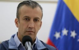 """A new battle that I will take on, clinging to God and to life,"" wrote El Aissami, who is also the country's economic vice president."