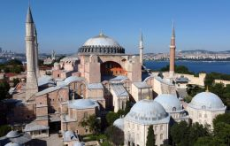 A magnet for tourists worldwide, the Hagia Sophia was first constructed 1,500 years ago as a cathedral in the Christian Byzantine Empire