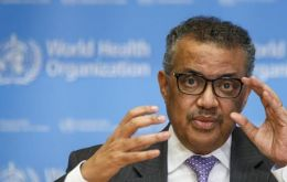 """Let me be blunt, too many countries are headed in the wrong direction, the virus remains public enemy number one,"" WHO chief Tedros Adhanom said"