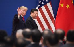 """I'm not interested right now in talking to China,"" Trump replied when asked in an interview with CBS News whether Phase 2 trade talks were dead."