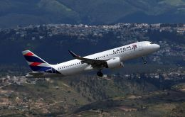 """We're opening together the Peruvian sky with our first flight from Lima to Cusco,"" Latin America's biggest airline LATAM said on Twitter."