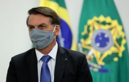 The president's statement comes as Brazil's economy is expected to contract 6.4% this year, hit by the pandemic