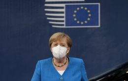 Germany's Chancellor Angela Merkel warned that EU leaders may fail to reach an agreement on Sunday on a huge post-coronavirus recovery plan