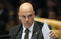 Justice Alexandre de Moraes ordered the removal of 16 Twitter accounts and 12 Facebook accounts on Friday July 24