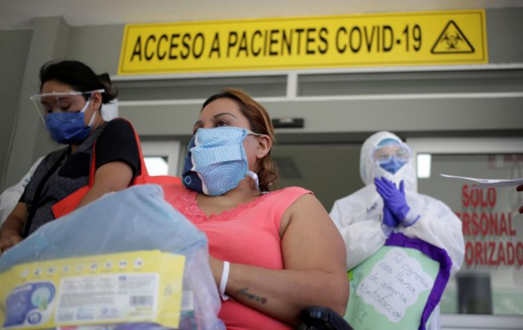 Latin America now has 4,327,160 total cases of the novel coronavirus compared to 4,308,495 infections in US and Canada