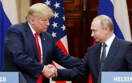 Trump raised the prospect of expanding the G-7 to again include Russia, which had been expelled in 2014 following Moscow's annexation of Ukraine's Crimea