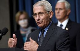 Fauci, an infectious disease expert who is on Trump's coronavirus task force, is one of the most trusted people in government