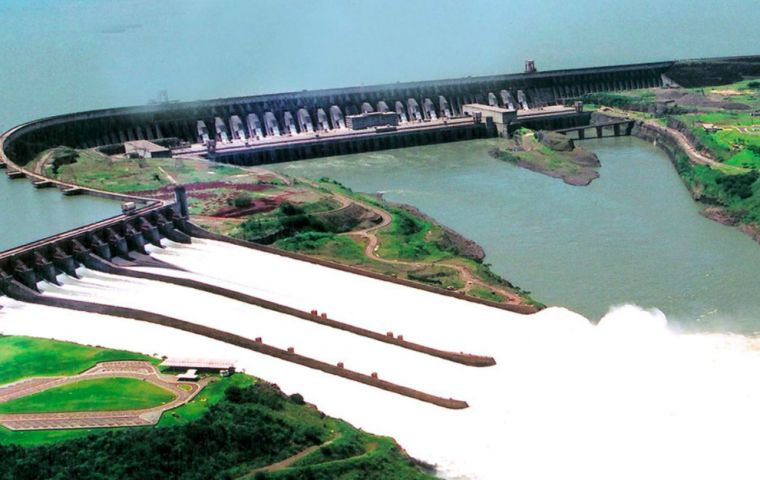The Itaipu bi-national dam in the heart of South America is the largest operational of its kind in the world