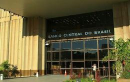 Central bank Focus survey sees GDP falling 5,7% compared to 6,5% last month. Brazil's economy ministry estimate the contraction will be closer minus 4,7%