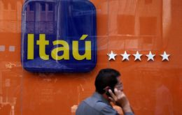 Itau reported a recurring net income of 4.205 billion reais (US$785.82 million), down 40% from a year earlier, as it boosted loan-loss provisions