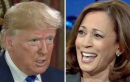 The records show that Trump donated a total of US$ 6,000 to Harris: US$ 5,000 in 2011 and US$ 1,000 in 2013. He made both donations while he was a private citizen.
