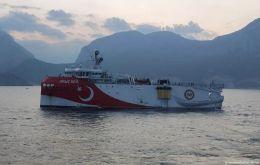 Existing rancor between uneasy NATO allies Turkey and Greece escalated when Ankara sent a seismic research ship named Oruc Reis to explore off the Greek island of Kastellorizo on Monday.