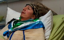 OHCHR confirmed its team had visited the hospital in Temuco, where Celestino Cordova was being treated for his one hundred days hunger strike