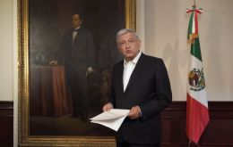 """This is a good indicator. ... We're going to move ahead in spite of everything because we're working in a professional manner,"" said Lopez Obrador"