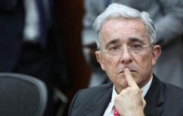 The Supreme Court placed Uribe, perhaps the country's most divisive but powerful politician, under detention that cited potential for obstruction of justice