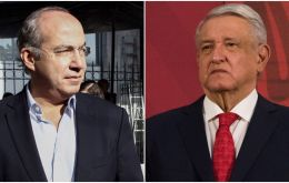 "With tensions mounting between Mexican political rivals, ex-leader Felipe Calderon accused president Andres Manuel Lopez Obrador of ""political persecution."""