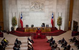 The plebiscite will ask Chileans if they want a new constitution drafted by members of Congress or a committee made up of Senators and citizens