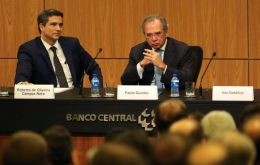 """My ideas are very closely aligned to Paulo Guedes'. I have never been approached. It would make no sense, given the alignment we have,"" Campos Neto said."