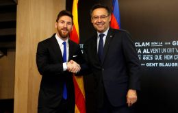 Messi, named world player of the year six times, has grown increasingly unhappy with how the club is being run under president Josep Maria Bartomeu.