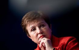 """I had a very constructive and positive conversation with President Fernández today,"" Kristalina Georgieva said"