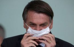 """I felt a little pain, so I went for a checkup. But I'm fine. It's an age thing,"" Bolsonaro told CNN Brasil."