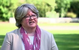 """I'm just somewhat surprised,"" Work and Pensions Secretary Therese Coffey told BBC television on Wednesday."
