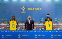 """CBF has equalled the prize money and allowances for men's and women's football, which means the women players will earn the same as the men,"" said Rogerio Caboclo"