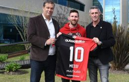"Messi, known as ""The Flea"" in Argentina, has always said he would love to return home to play for the club"