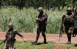 "Paraguay government said a confrontation in the country's north with members of the Paraguayan People's Army (EPP) had left at least two ""rebels"" dead."