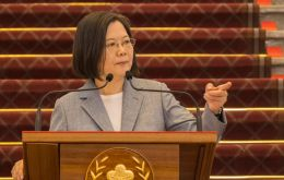 President Tsai Ing-wen announced that government would from Jan 1 allow in US pork containing ractopamine, an additive that enhances leanness
