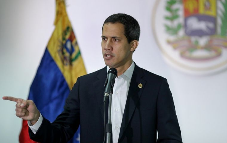 """Engaging in fraud and fostering disunity only collaborates with the dictatorship,"" Guaido said in comments broadcast on social media."