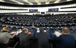 EU law states parliament must hold a four-day session once a month in Strasbourg, despite regular lobbying by lawmakers to change the rules and meet in Brussels