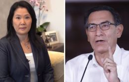 """Until today there are not enough elements or necessary procedures to vacate the president from the Executive,"" Fujimori said in a video posted on social media."