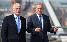 """What is being proposed now is shocking,"" Major and Blair, who were adversaries, as Conservative and Labour leaders, wrote in a joint letter published by the Sunday Times newspaper."