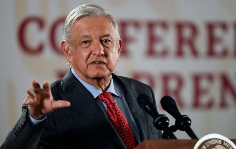 """I have prepared the draft of a document that I am going to present to request the consultation,"" Lopez Obrador told reporters."