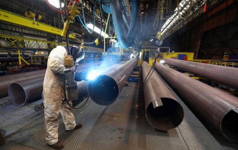 The U.S. Trade Representative's office said it was reducing Brazil's remaining 2020 quota for semi-finished steel imports to 60,000 metric tons from 350,000 tons