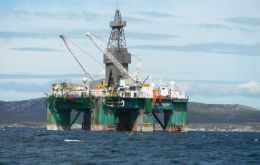 Argos Resources which focuses on the North Falkland Basin, reported a US$192,000 total loss from operations for the six months ended June 30